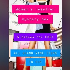 WOMENS RESELLERS BOX 5/$35